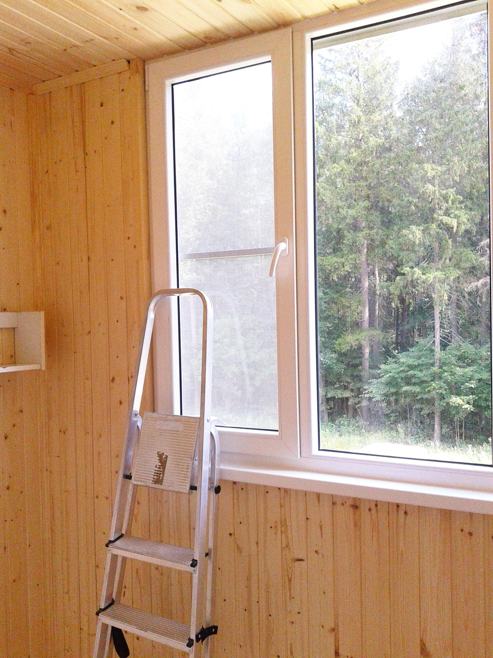 Установка окон,ремонт балконов в сарове.примеры..